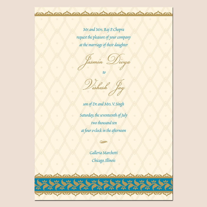 Indian Wedding Card Invitation Wordings – guitarreviews.co